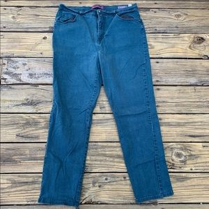 Gloria Vanderbilt | Blue Amanda Straight Leg Jeans